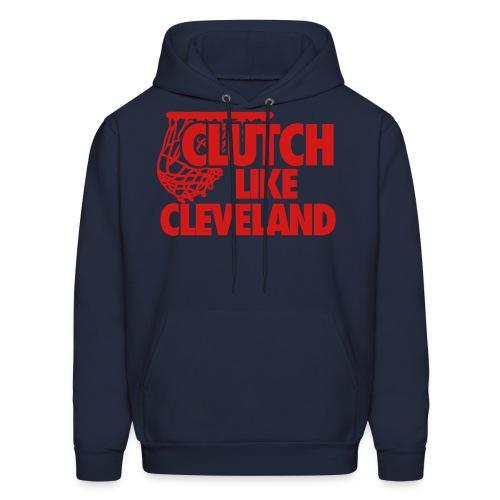 Clutch Cleveland Navy Men's Hoodie - Men's Hoodie