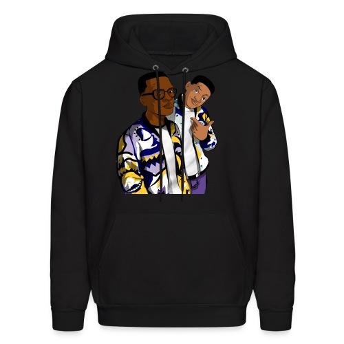 Fresh Prince Black Men's Hoodie - Men's Hoodie
