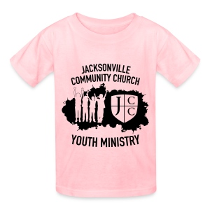 JCC Youth Ministry (Black Ink) - Kids' T-Shirt