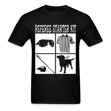 cool referee starter kit tshirt graphic design tshirt