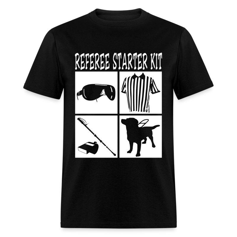 Cool Referee Starter Kit T Shirt Graphic Design T Shirt