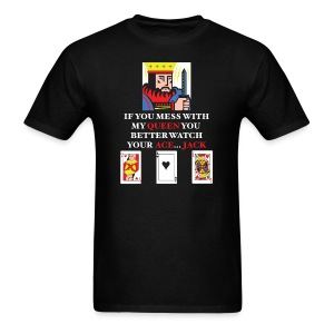 Don't Mess With The Queen - Men's T-Shirt
