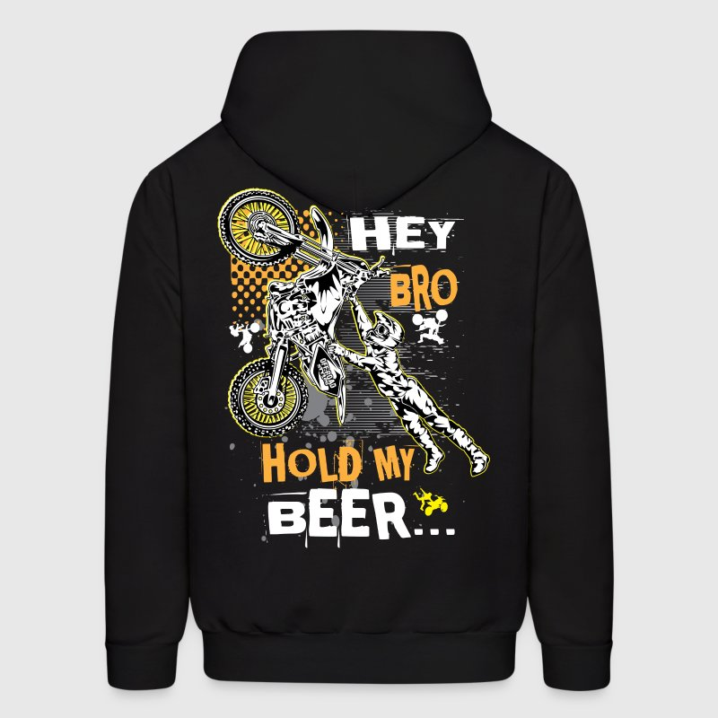 Hold My Beer Motocross Hoodies - Men's Hoodie