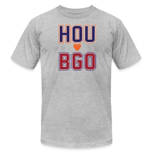 BGO - Men's T-Shirt by American Apparel