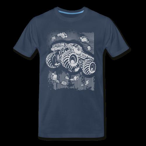Big Foot Monster Truck Shirt - Men's Premium T-Shirt
