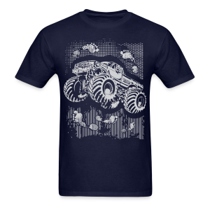 Big Foot Monster Truck Shirt - Men's T-Shirt