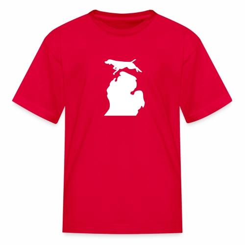 German Shorthaired Pointer Bark Michigan children's shirt - Kids' T-Shirt