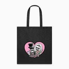 Just Married skulls Bags & backpacks