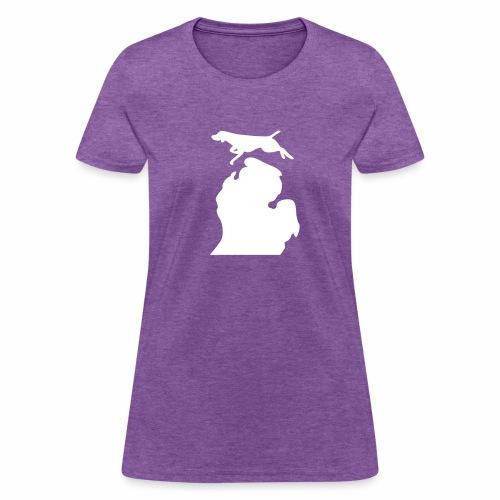 German Shorthaired Pointer Bark Michigan women's shirt - Women's T-Shirt