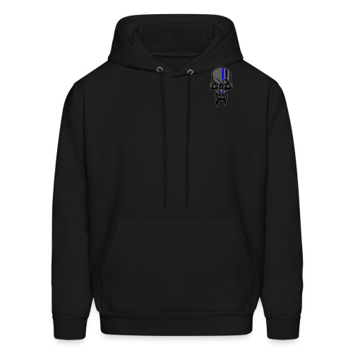 I Fight The Evil You Pretend Does Not Exist - Men's Hoodie