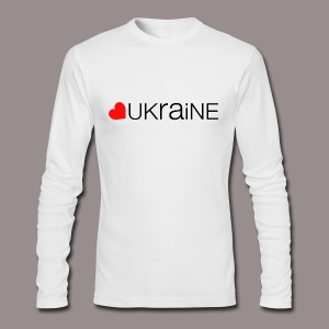 love ukraine - Men's Long Sleeve T-Shirt by Next Level