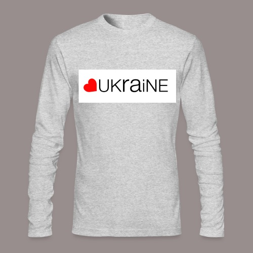 love ukraine - Men's Long Sleeve T-Shirt by Next Level
