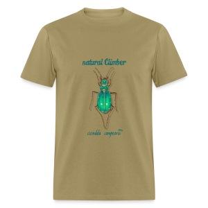 NATURAL CLIMBER CICINDELLA - Men's T-Shirt
