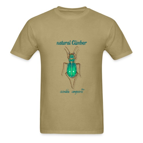 NATURAL CLIMBER CICINDELLA - Men's T-Shirt