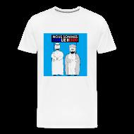 T-Shirts ~ Men's Premium T-Shirt ~ Nous Sommes Charlie