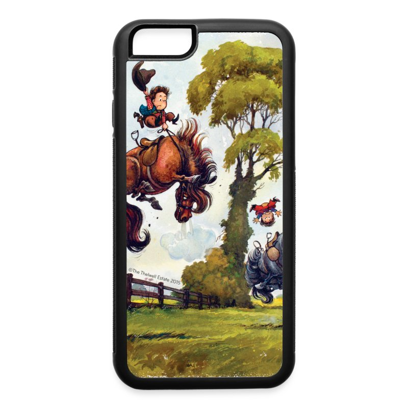 PonyRodeo Thelwell Cartoon - iPhone 6/6s Rubber Case