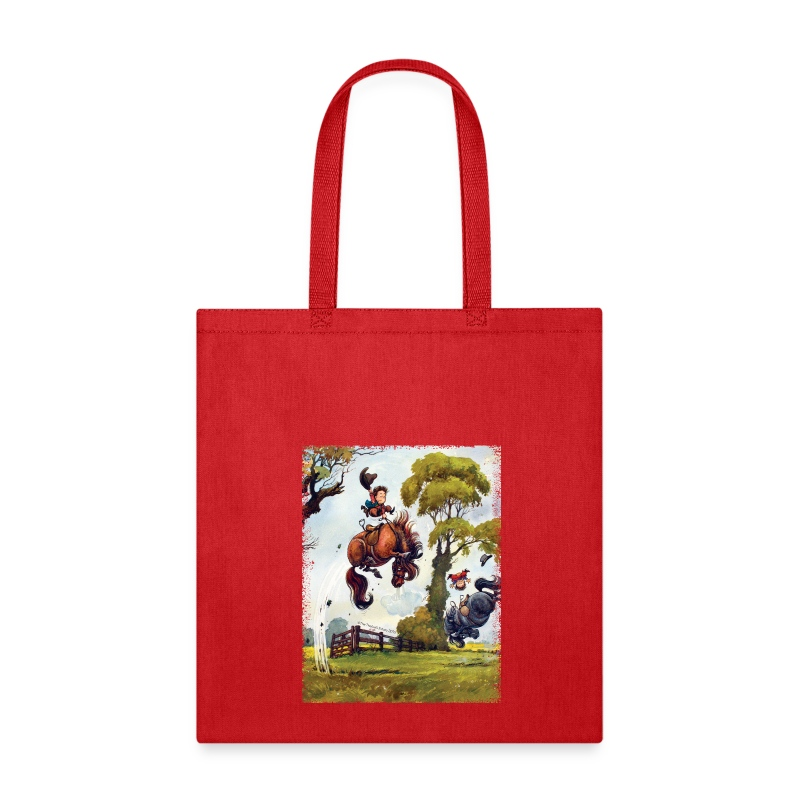 PonyRodeo Thelwell Cartoon - Tote Bag