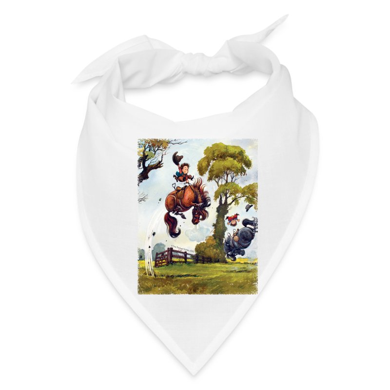 PonyRodeo Thelwell Cartoon - Bandana