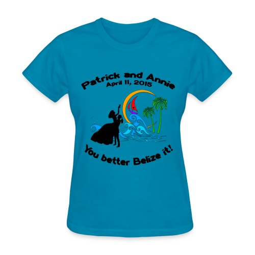 Women's T-Shirt - Special Note:  Please order this shirt in TURQUOISE for the Belize trip in April 2015.