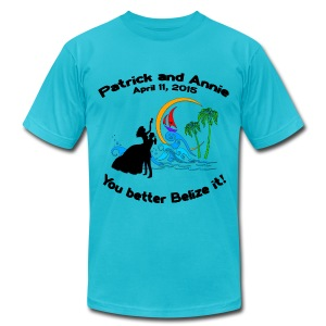 Men's Fine Jersey T-Shirt - Special Note:  Please order this shirt in TURQUOISE for the Belize trip in April 2015.