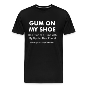 GUM ON MY SHOE tee (Men) - Men's Premium T-Shirt