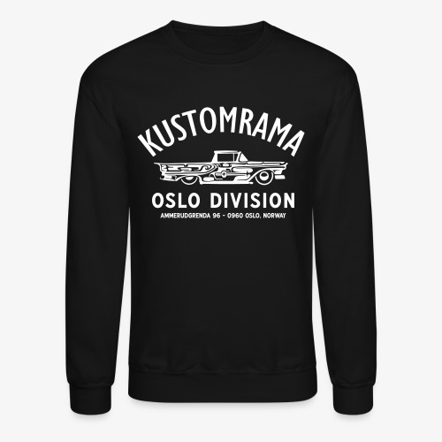 Kustomrama Oslo Division Sweatshirt - Crewneck Sweatshirt