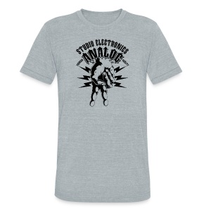 Men's Tri-Blend Vintage T-Shirt - Unisex Tri-Blend T-Shirt by American Apparel