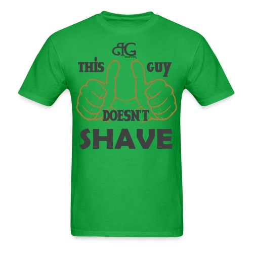 Beard Gains Doesn't Shave Tee - Men's T-Shirt