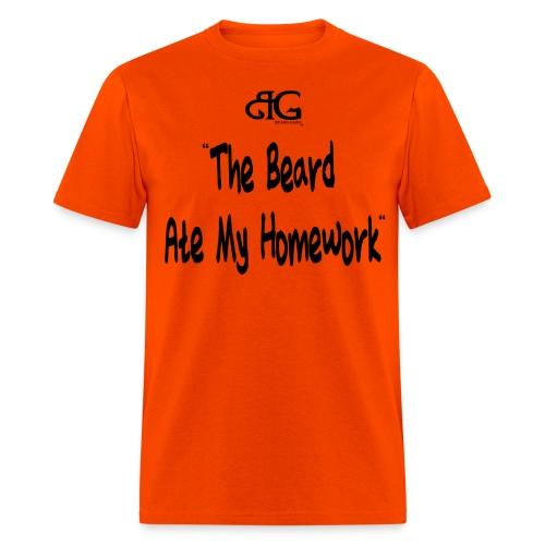 Beard Gains Beard Ate It Tee - Men's T-Shirt