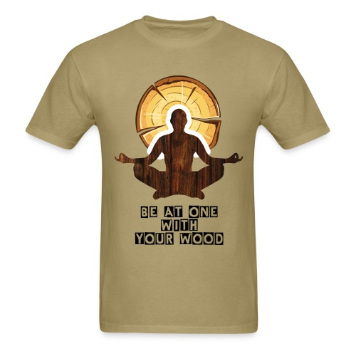 One Wood Logo T Shirt - Men's T-Shirt