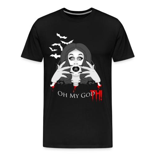 Oh My GOTH! - Men's Premium T-Shirt