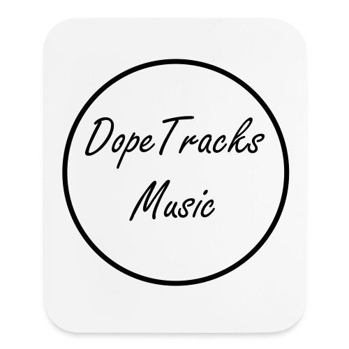 Dope Tracks Circle Design Mouse Pad - Mouse pad Vertical