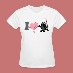 I Heart Darth Vader Women's T-Shirt - Women's T-Shirt