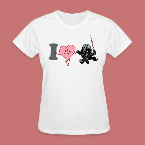 I Heart Darth Vader Women's T-Shirt - Women's T-Shirt