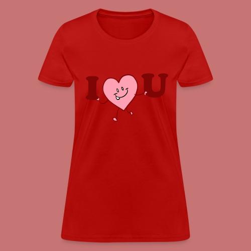 I Heart U Women's T-Shirt - Women's T-Shirt