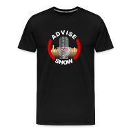 T-Shirts ~ Men's Premium T-Shirt ~ Advise Show Logo Big & Tall