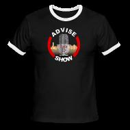 T-Shirts ~ Men's Ringer T-Shirt ~ Advise Show Logo 2