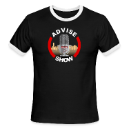 T-Shirts ~ Men's Ringer T-Shirt ~ Advise Show Logo 2
