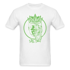 Easy Fit Earlion (White/Green) - Men's T-Shirt