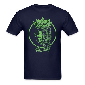Easy Fit Earlion (Navy/Green) - Men's T-Shirt