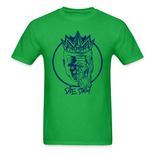 Easy Fit Earlion (Green/Navy) - Men's T-Shirt