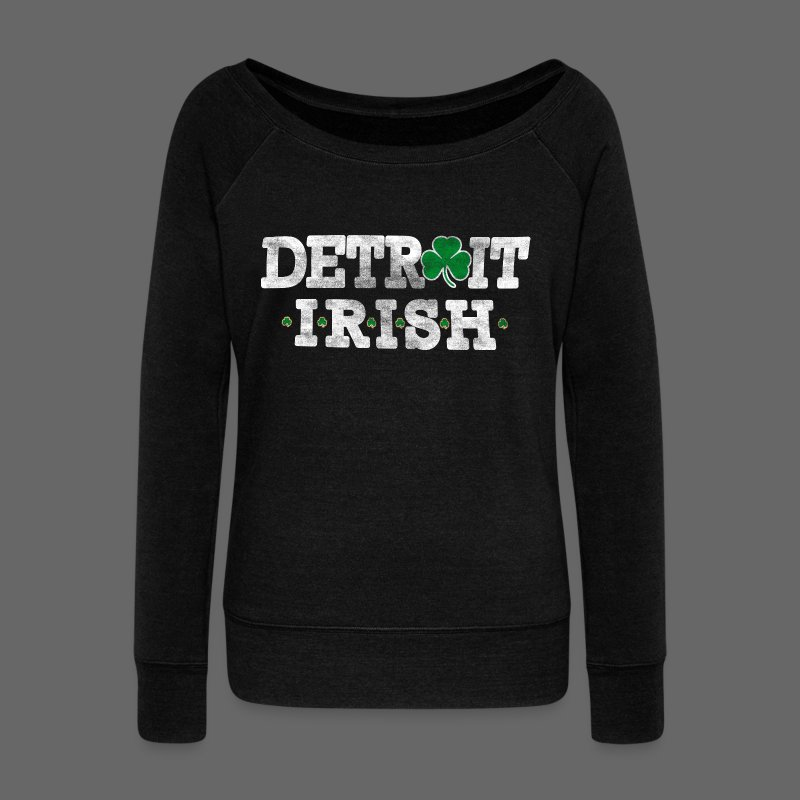 Detroit Irish - Women's Wideneck Sweatshirt