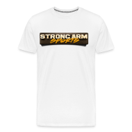 T-Shirts ~ Men's Premium T-Shirt ~ Strong Arm Sports Tee
