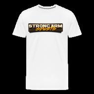 T-Shirts ~ Men's Premium T-Shirt ~ Strong Arm Sports Tee