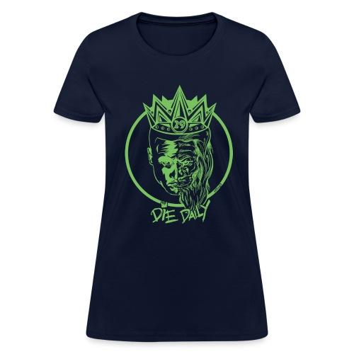 Easy Fit Earlion (Navy/Green) - Women's T-Shirt