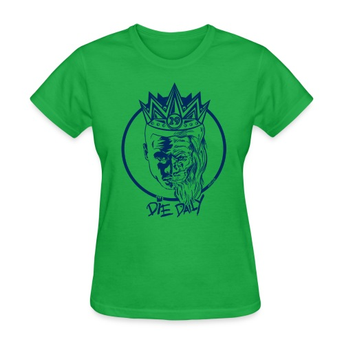 Easy Fit Earlion (Green/Navy) - Women's T-Shirt