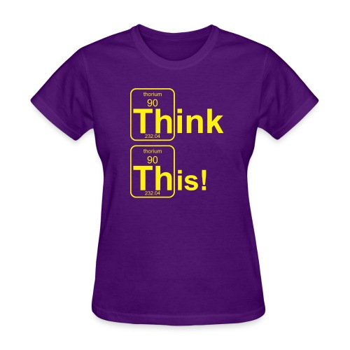 Thorium Th3 B f - Women's T-Shirt