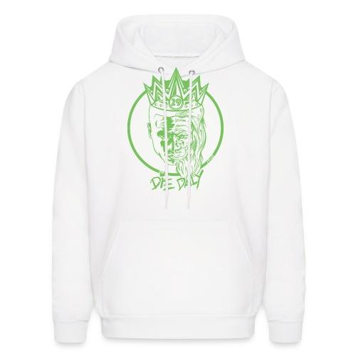 Earlion Hoodie (Green/White) - Men's Hoodie