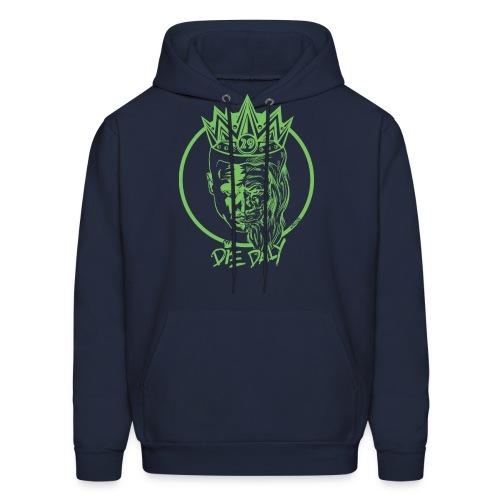 Earlion Hoodie (Navy/Green) - Men's Hoodie