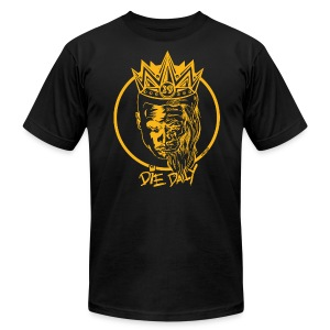 Slim Fit Earlion (Black/Gold) - Men's T-Shirt by American Apparel